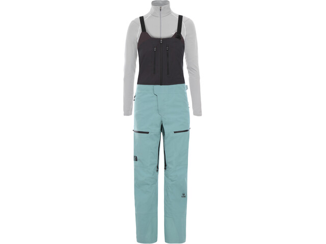 The North Face A-CAD FUTURELIGHT Bib-pyöräilyhousut Naiset, trellis green/weathered black